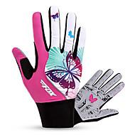 お買い得  -BAT FOX スポーツグローブ 高通気性 / 耐久性 / 耐衝撃性の フルフィンガー ライクラ / メッシュ サイクリング / バイク 女性用