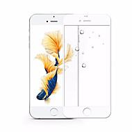 Недорогие Защитные плёнки для экрана iPhone-Защитная плёнка для экрана для Apple iPhone 7 Plus Закаленное стекло 1 ед. Защитная пленка на всё устройство HD / Уровень защиты 9H / 2.5D закругленные углы