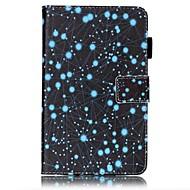 Недорогие Чехлы и кейсы для Samsung Tab-Кейс для Назначение SSamsung Galaxy Tab A 7.0 (2016) Кошелек / Бумажник для карт / со стендом Чехол Пейзаж Твердый Кожа PU для Tab A 7.0 (2016)