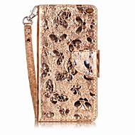 Недорогие Чехлы и кейсы для Huawei Honor-Для Чехлы панели Кошелек Бумажник для карт со стендом Флип Магнитный С узором Чехол Кейс для Бабочка Твердый Искусственная кожа для Huawei