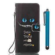 Недорогие Чехлы и кейсы для Galaxy S8-Кейс для Назначение SSamsung Galaxy S8 Plus S8 Бумажник для карт Кошелек со стендом Флип С узором Чехол Мультипликация Твердый Кожа PU для