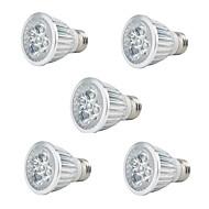 olcso Növényvilágítás-5 W 350 lm E27 Növekvő izzók PAR20 5 led Nagyteljesítményű LED Dekoratív Piros Kék AC 85-265V