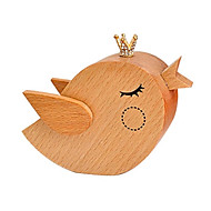 cheap Toys & Hobbies-Music Box Toys Bird Wood Vintage Retro Pieces Unisex Gift