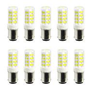 olcso LED betűzős izzók-ywxlight® 5w ledes kétpólusú fények 52 smd 2835 400-500 lm meleg fehér hideg fehér 110v / 220v