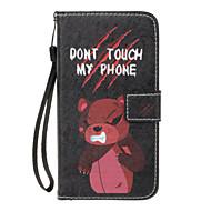 Кейс для Назначение SSamsung Galaxy A5(2017) A3(2017) Кошелек Бумажник для карт со стендом Флип С узором Магнитный Чехол Слова /