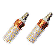 12W E14 LED Corn Lights T 84 SMD 2835 980 lm Warm White White 3000-3500/6000-6500 K V