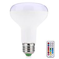 10W E27 LED Έξυπνες Λάμπες R80 38 SMD 5050 800 lm Θερμό Λευκό RGB κ Τηλεχειριζόμενο Διακοσμητικό V