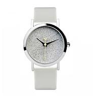 Dames Modieus horloge Kwarts Leer Band Wit