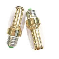 お買い得  LED コーン型電球-2pcs 7W 100-150lm E14 E27 LEDコーン型電球 60 LEDビーズ SMD 2835 温白色 ホワイト 220-240V