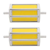 7W Żarówki punktowe LED Rurka 3 COB 660 lm Ciepła biel Zimna biel V