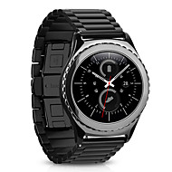 Недорогие Аксессуары для смарт часов-Нержавеющая сталь Металл Спортивный ремешок Для Samsung Galaxy Смотреть