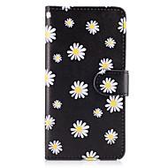 Кейс для Назначение SSamsung Galaxy A5(2017) A3(2017) Кошелек Бумажник для карт со стендом Флип Чехол Цветы Твердый Искусственная кожа для