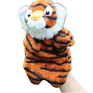 ราคาถูก -Finger Puppet Puppets จระเข้ Tiger น่ารัก สัตว์ต่างๆ การจำลอง Tactel Plush สำหรับเด็ก Toy ของขวัญ