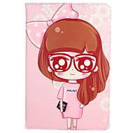 billige Etuier og covers til iPad-Til æble ipad mini1 2 3/4 cover med stativ flip mønster fuld krops taske sexet dame blomst hårdt pu læder