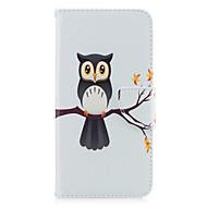Назначение iPhone X iPhone 8 Чехлы панели Бумажник для карт Кошелек со стендом Флип С узором Чехол Кейс для Сова дерево Твердый