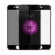 Недорогие Защитные плёнки для экрана iPhone-Защитная плёнка для экрана Apple для iPhone 7 Plus Закаленное стекло 1 ед. Защитная пленка для экрана и задней панели Anti-Spy Против