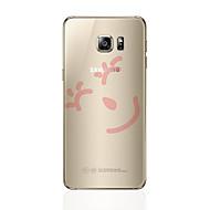abordables Galaxy S8 Plus Carcasas / Fundas-Funda Para Samsung Galaxy S8 Plus S8 Transparente Diseños Cubierta Trasera Caricatura Suave TPU para S8 Plus S8 S7 edge S7 S6 edge plus