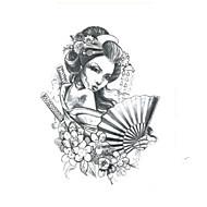 기타여성 남성 Teen 플래시 문신 임시 문신