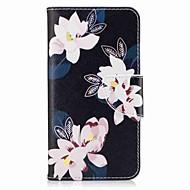 Кейс для Назначение SSamsung Galaxy J7 (2016) J5 (2016) Кошелек Бумажник для карт со стендом Флип С узором Чехол Цветы Твердый