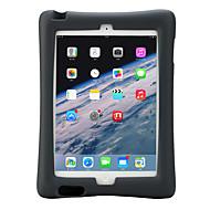olcso iPad tokok-Apple iPad 4/3/2 lefedik ütésálló állvánnyal gyermek biztonságos testes esetben egyszínű puha szilikonból eva