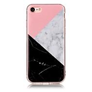 Недорогие Кейсы для iPhone 8 Plus-Назначение iPhone X iPhone 8 Чехлы панели IMD Задняя крышка Кейс для Мрамор Мягкий Термопластик для Apple iPhone X iPhone 8 Plus iPhone 8