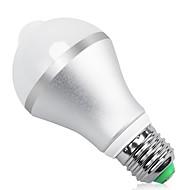 billige LED-smartpærer-9W 850lm E26 / E27 B22 Smart LED-lampe A60(A19) 18 LED Perler SMD 5630 Infrarød sensor Lysstyring Menneskekroppssensor Varm hvid Kold hvid