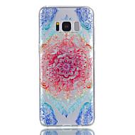 Для samsung galaxy s8 plus s8 кейс tpu материал кружево цветы модель рельеф телефон чехол s7 край s7 s6 s5