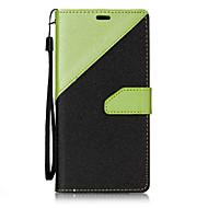 お買い得  携帯電話ケース-ケース 用途 LG カードホルダー ウォレット スタンド付き フリップ 磁石バックル フルボディーケース 幾何学模様 ハード PUレザー のために LG V20 LG StyLo 3 LG G6