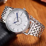 povoljno -YAZOLE Muškarci Modni sat Ručni satovi s mehanizmom za navijanje Casual sat Kvarc Legura Grupa Cool Neformalno Elegantno Srebro