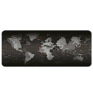 Gaming Mouse Pad - Portable Large Desk Pad - Non-slip Rubber Base World Map Mouse Pad(30x80x0.2cm)