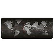 preiswerte Mauspads-Gaming-Mauspad - tragbare große Schreibunterlage - rutschfeste Gummiauflage Weltkarte Mauspad (30x80x0,2cm)