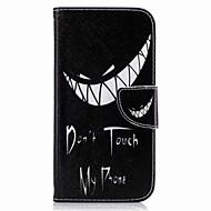 Недорогие Чехлы и кейсы для Galaxy A7(2017)-Кейс для Назначение SSamsung Galaxy A5(2017) A3(2017) Бумажник для карт Кошелек со стендом Флип С узором Чехол Мультипликация Твердый