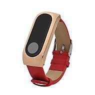 Нержавеющая сталь Натуральная кожа Кожаный ремешок Для Xiaomi Смотреть