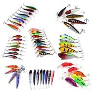 53 szt Twarda Bait Bait Metal Swimbaits Ogólna nazwa kilku drobnych ryb Korba Ołówek Wibracja Lure pakiety NávnadyWibracja Przynęta