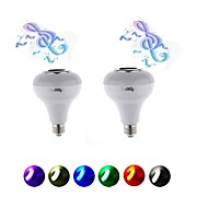 5W Bulbi LED Inteligenți 15 SMD 5050 200 lm RGB AC220 V 2 bc