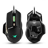 ieftine -Cw90 3800 dpi mouse-uri de jocuri cu fir cu șoareci 6 butoane de design cu respirație a condus culori pentru jocul pc mac