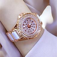 Damskie Do sukni/garnituru Modny Zegarek na nadgarstek Zegarek na bransoletce Unikalne Kreatywne Watch Na codzień Sztuczny Diamant