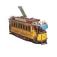 tanie Zabawki & hobby-Zestaw DIY Zabawki 3D Puzzle Zabawkowe samochody Zabawki Autobus 3D DIY Symulacja Nie określony Sztuk