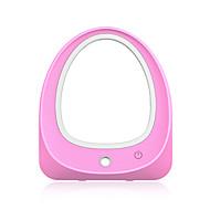 abordables Humidificador-Espejo iluminado llevado del maquillaje con el humidificador portable del recorrido maquillaje espejo del escritorio del escritorio del