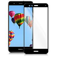 お買い得  スクリーンプロテクター-スクリーンプロテクター Huawei のために P10 Lite 強化ガラス 1枚 フルボディプロテクター 傷防止 防爆 2.5Dラウンドカットエッジ 硬度9H ハイディフィニション(HD)
