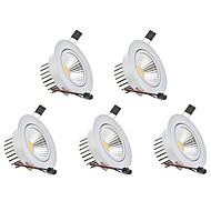 abordables Luces Descendentes-3W 1 LED Regulable Luces LED Descendentes Blanco Cálido / Blanco Fresco 110-220V Garaje / Despensa / Bodega / Pasillo / Escaleras