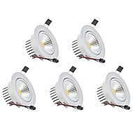 billige Nedlys-LED nedlys Varm hvid Kold hvid LED 5 stk.