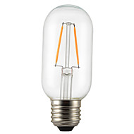 1PCS 2W E26/E27 LED Filament Bulbs T45 2 leds COB Dimmable Decorative Warm White 150-200lm 2300-2700K AC 220-240V