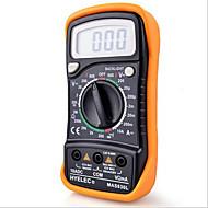 hyelec mas830lミニデジタルマルチメーターバックライトハンドヘルド多機能マルチメーター