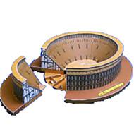 billige Legetøj og hobbyartikler-3D-puslespil Papirmodel Papirkunst Modelbyggesæt Berømt bygning Hest Arkitektur 3D GDS Klassisk Unisex Gave