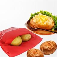 olcso Konyhai eszközök-Sütő mikrohullámú sütő vörös burgonya táska gyorsan gyors, mindössze 4 perc alatt burgonya táskák