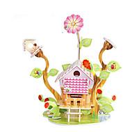 preiswerte Spielzeuge & Spiele-3D - Puzzle / Holzpuzzle / Modellbausätze Berühmte Gebäude / Haus Heimwerken Hartkartonpapier Klassisch / Anime / Zeichentrick Kinder Unisex Geschenk