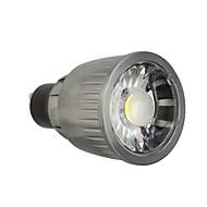 お買い得  LED スポットライト-1個 7 W 780 lm GU10 LEDスポットライト 1 LEDビーズ COB 装飾用 温白色 / クールホワイト 85-265 V / 1個