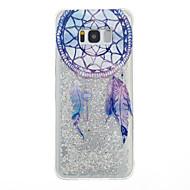 halpa Galaxy S5 kotelot / kuoret-Etui Käyttötarkoitus Samsung Galaxy S8 Plus S8 Virtaava neste Takakuori Uni sieppari Pehmeä TPU varten S8 S8 Plus S7 edge S7 S6 edge S6 S5