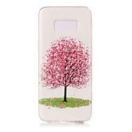 Недорогие Чехлы и кейсы для Galaxy S8-Кейс для Назначение SSamsung Galaxy S8 Plus S8 Сияние в темноте С узором Кейс на заднюю панель дерево Мягкий ТПУ для S8 Plus S8 S7 edge